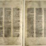 Codex Sinaiticus (IVe siècle, Méditerranée orientale - Crédit : Trustees of the British Library