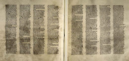 Codex Sinaiticus (IVe siècle, Méditerranée orientale - Crédit : Trustees of the British Library