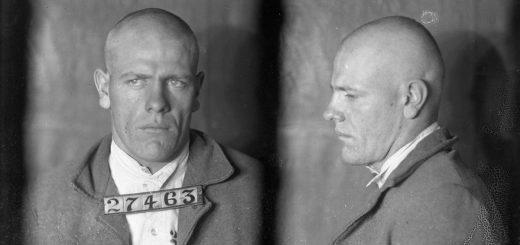 Arthur Defenbaugh, détenu #27463 photographié en 1924 - Crédit : Archives de l'Etat du Missouri