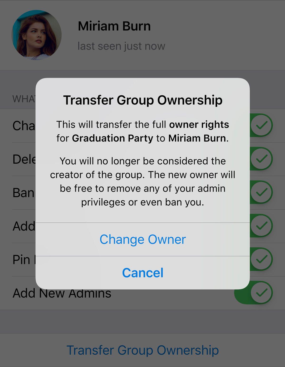 Dans Telegram 5.8, on a une socialisation améliorée et vous pouvez créer des groupes et des discussions proches de votre localisation géographique.