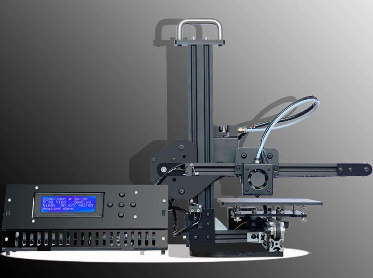 La Tronxy X1 fait partie imprimantes 3D à moins de 150 euros