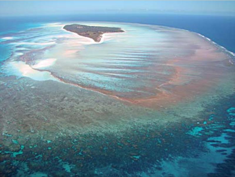 Juan de Nova dans les îles Éparses - Crédit : V. Duvat Magnan