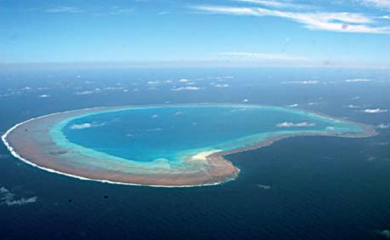 Bassa de India dans les îles Éparses - Crédit : Marine Nationale