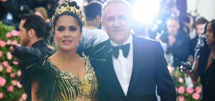 François-Henri Pinault et Salma Kayek participent au Gala Met 2019 - Crédit : Dimitrios Kambouris/Getty Images