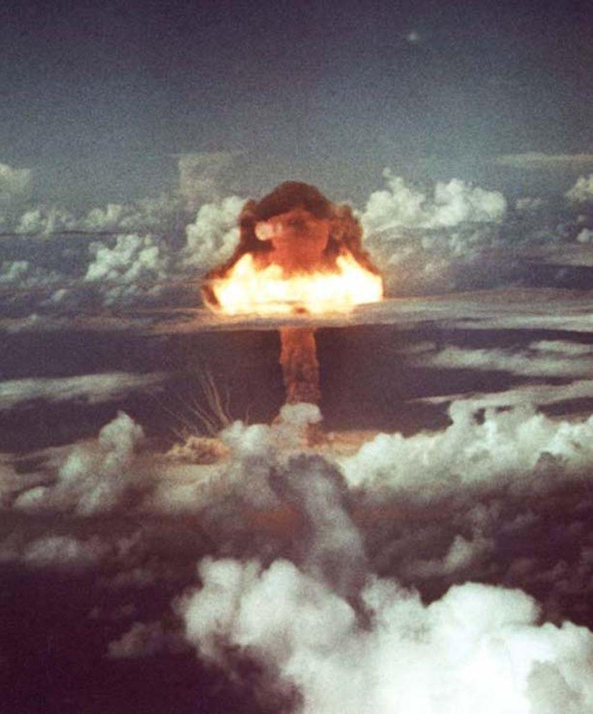 Les essais de bombes nucléaires ont laissé leur marque dans les archives géologiques - Crédit : Administration nationale de la sécurité nucléaire / Wikimedia Commons, CC BY