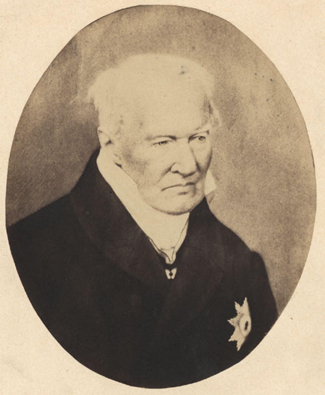 Humboldt, quelques années avant sa mort.