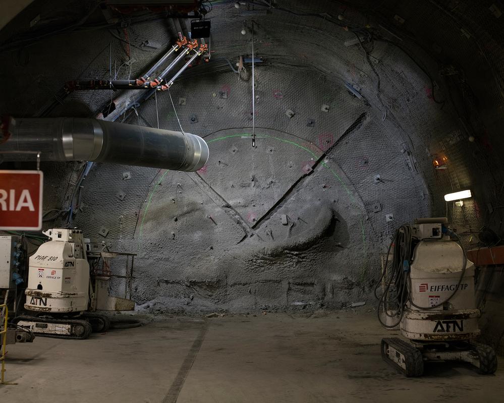 Dans le laboratoire d'essais souterrain de l'Andra - Crédit : Emily Graham pour Mosaic