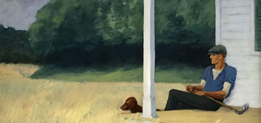 Clamdigger 1935 par Edward Hopper - Crédit : Sharon Mollerus / Flickr