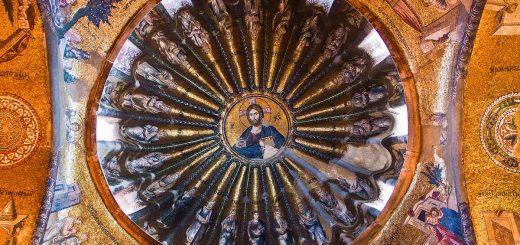 À l'église du Saint-Sauveur à Chora, Istanbul - Crédit : Guillen Perez/Flickr