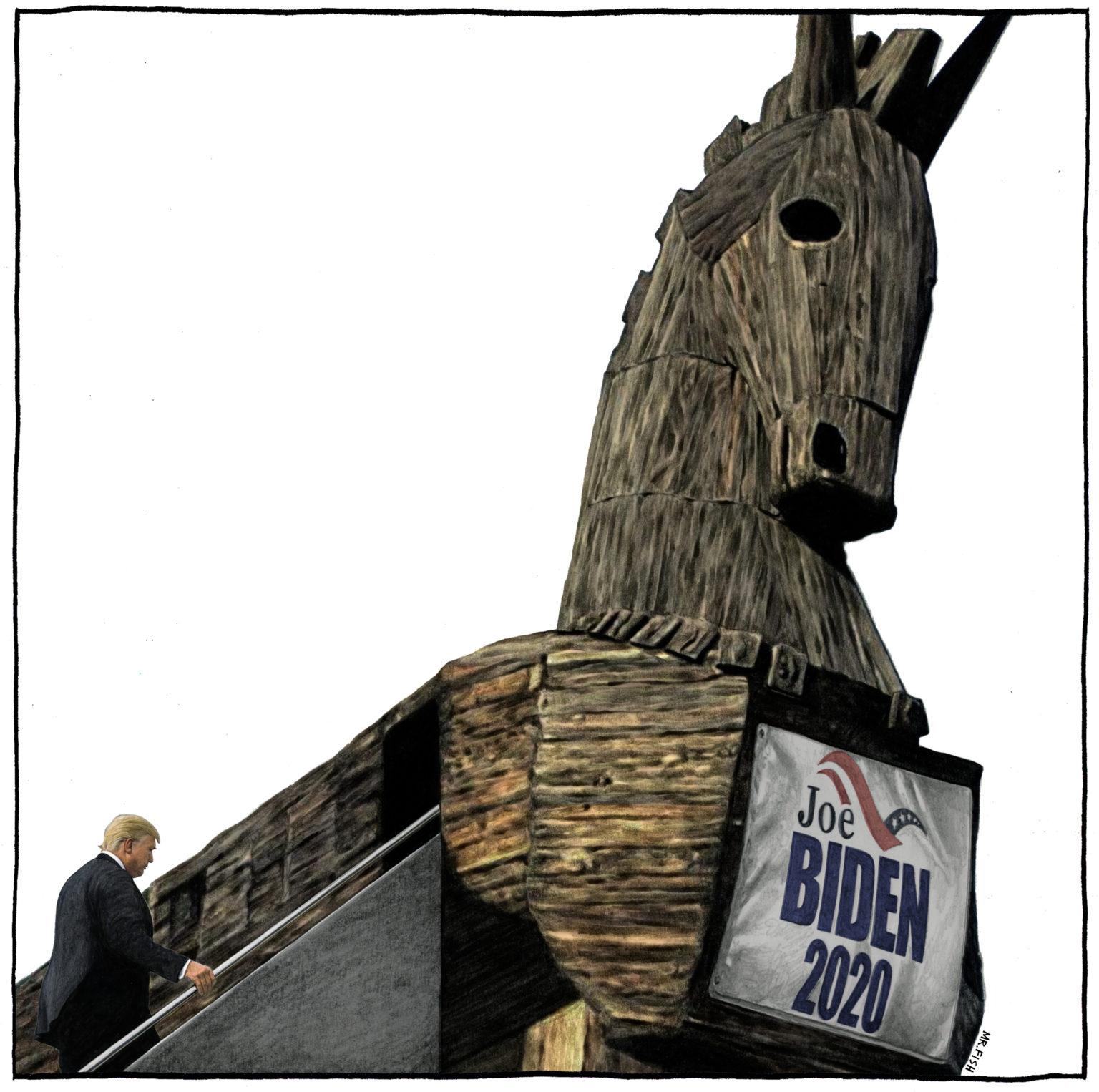 Un simulacre d'élection. Un véritable cirque entre Biden et Trump. Sanders a tenté de jouer le jeu des Démocrates et ces derniers l'ont crucifié une fois de plus. Trump ou Biden, les américains voteront pour un oligarque à 100 %. Cette élection aurait pu être historique, elle sera inutile.