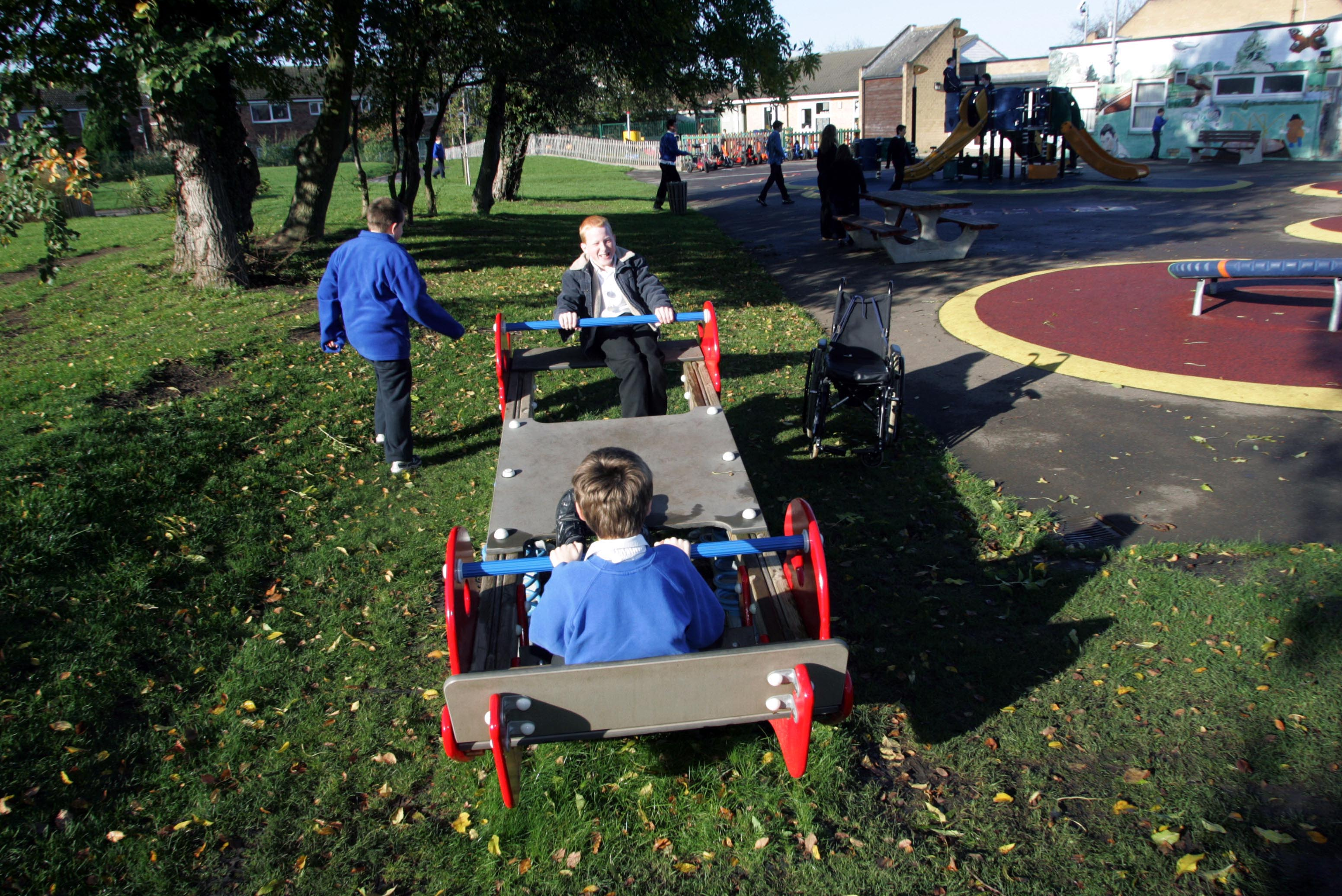Multiseesaw foot and backrest