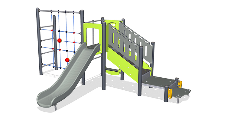 Play Tower with ADA Stairs, Physical