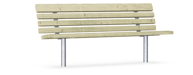 Swell Bench With Backrest Pine Classic Outdoor Furniture Pabps2019 Chair Design Images Pabps2019Com