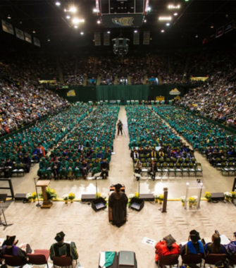 Honorary Doctorate of Humane Letters Awarded to Shari Arison by GMU