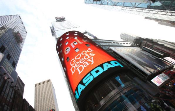 Good Deeds Day at the NASDAQ