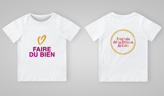 Good Deeds Day T-Shirt in French