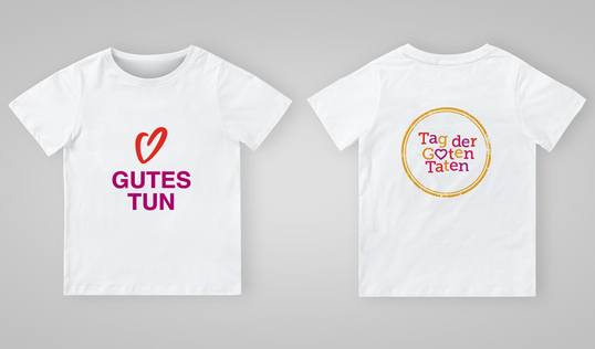 Good Deeds Day T-shirt in German