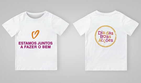 Good Deeds Day T-shirt in Portuguese Angola