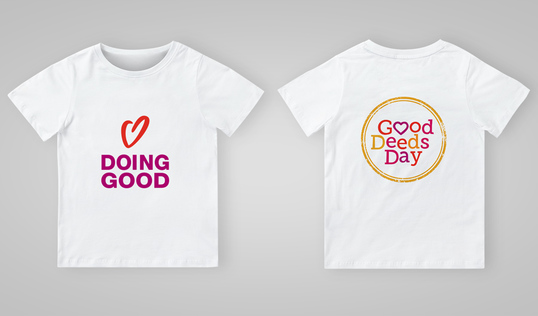 Good Deeds Day T-Shirt in English