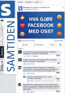Forsiden til Hva gjør Facebook med oss?