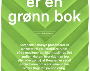 Koranen er en grønn bok
