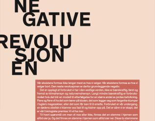 7 Den negative revolusjonen