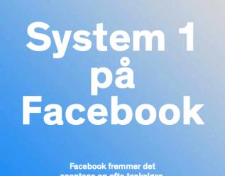 System 1 på Facebook