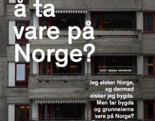 Klarer bygda å ta vare på Norge?