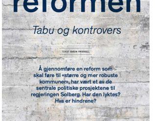Kommunereformen. Tabu og kontrovers