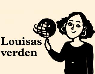 Louisas verden. Tegning av Louisa Olufsen Layne.,