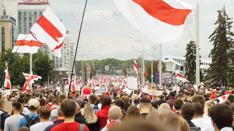 Demonstrasjon i Minsk