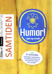 Cover-bildet til Humor! - makt og avmakt