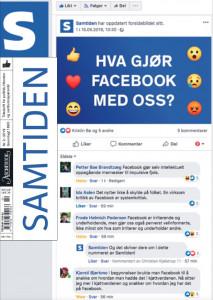 Cover-bildet til Hva gjør Facebook med oss?