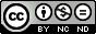 La imagen tiene un atributo ALT vacío; su nombre de archivo es cc-by-nc-nd.png