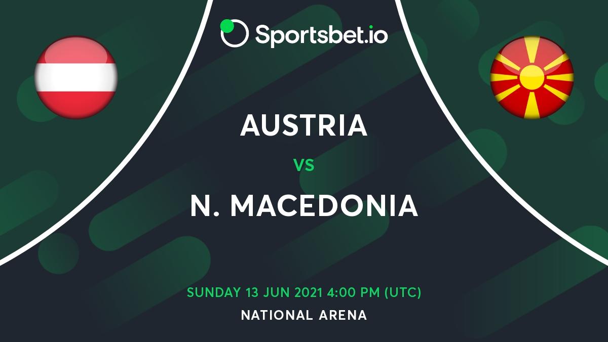 Austria v North Macedonia Betting Odds Predictions - European Championship Matchday (1)