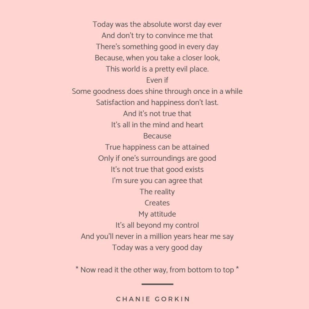 Perspective - Chanie Gorkin