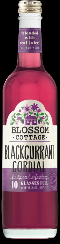 Blossom Cottage Blackcurrant bottle
