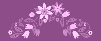 Blossom Cottage Elements icon slide 1 purple resized