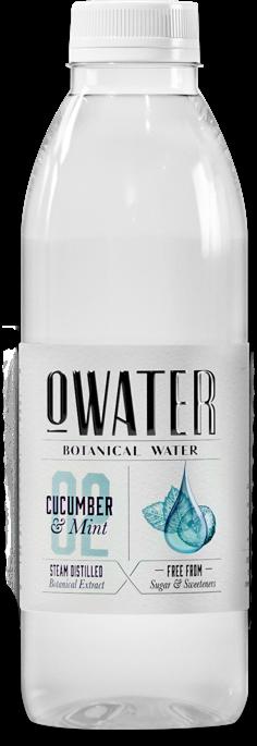 O Water bottle Cucumber Mint