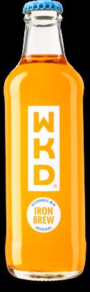 WKD Iron Brew bottle