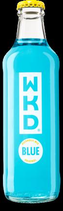 WKD range Blue bottle