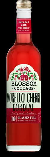 Blossom cottage morello cherry range bottle