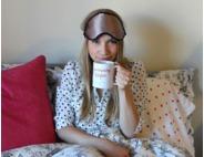 Tiffany Leigh Interior Design Silk Sleep Eye Mask