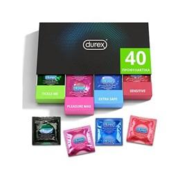 Συσκευασια Ποικιλιας Durex Surprise Me 40