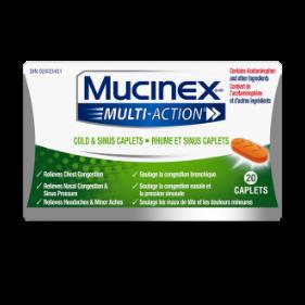 Mucinex Multi-Action Cold & Sinus