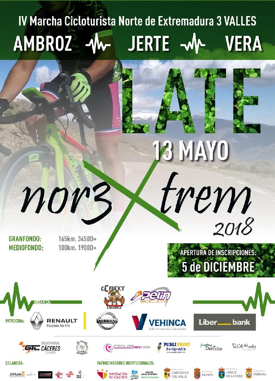IV Marcha Cicloturista Norte de Extremadura 3 Valles