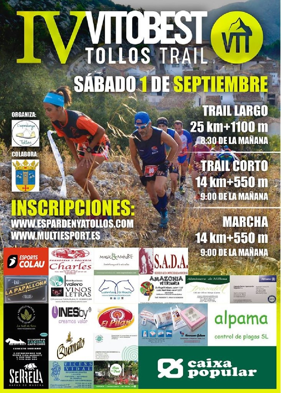 IV Vitobest Tollos Trail