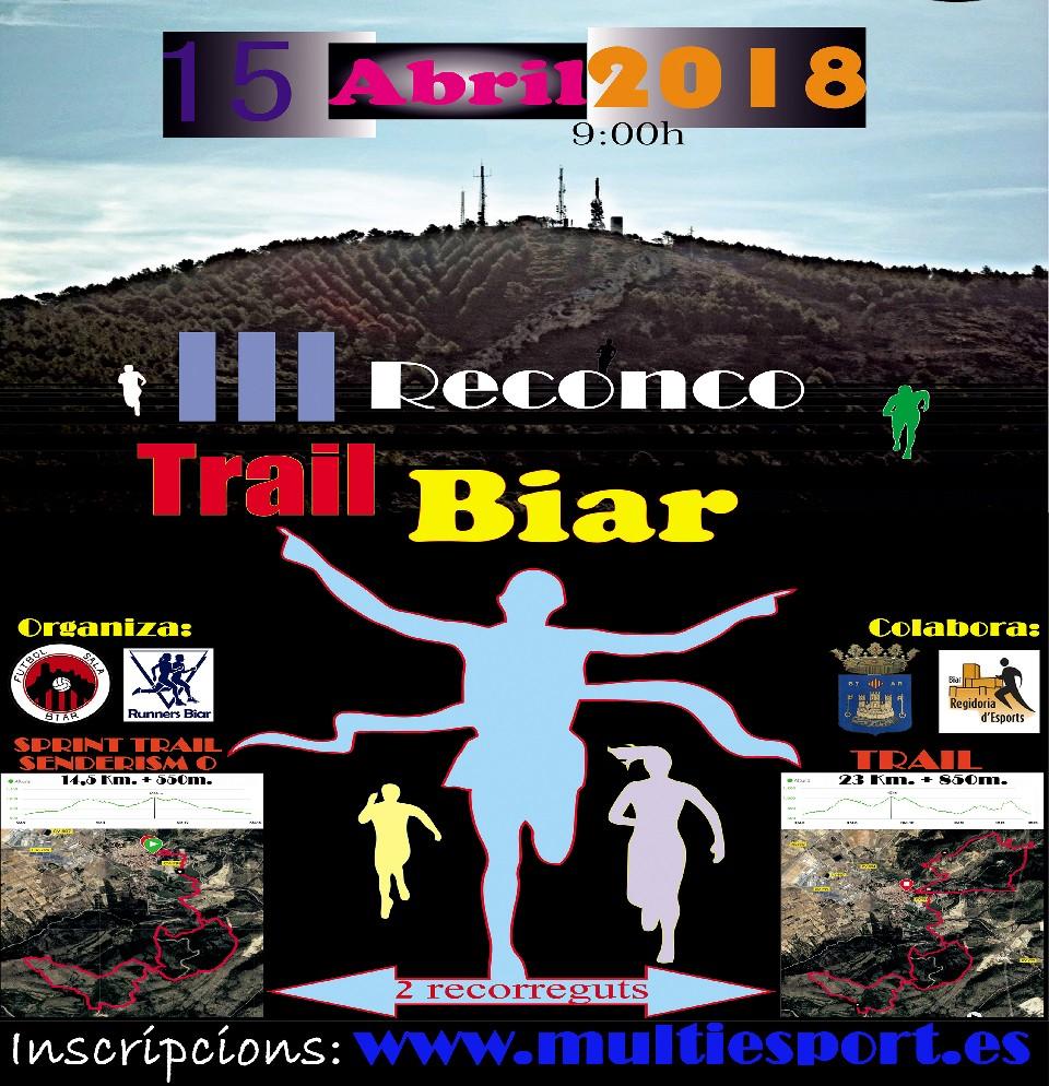 III Reconco Trail Biar