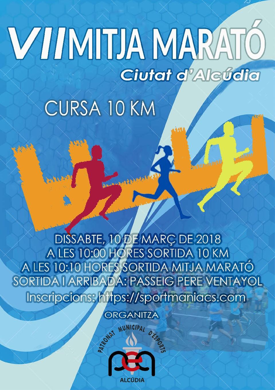 VII Mitja Marató Ciutat D'Alcúdia 2018