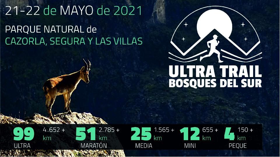 ULTRA TRAIL BOSQUES DEL SUR 2021. Inscripciones e info — Sportmaniacs